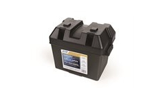 battery box camco small black
