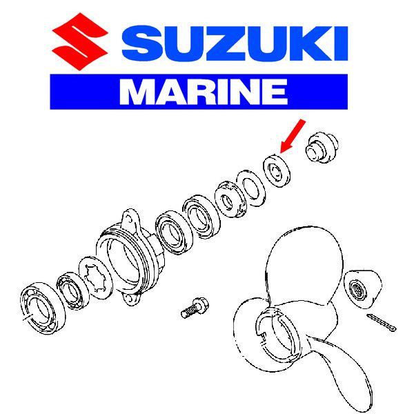 Suzuki Outboard Propellers & Hardware